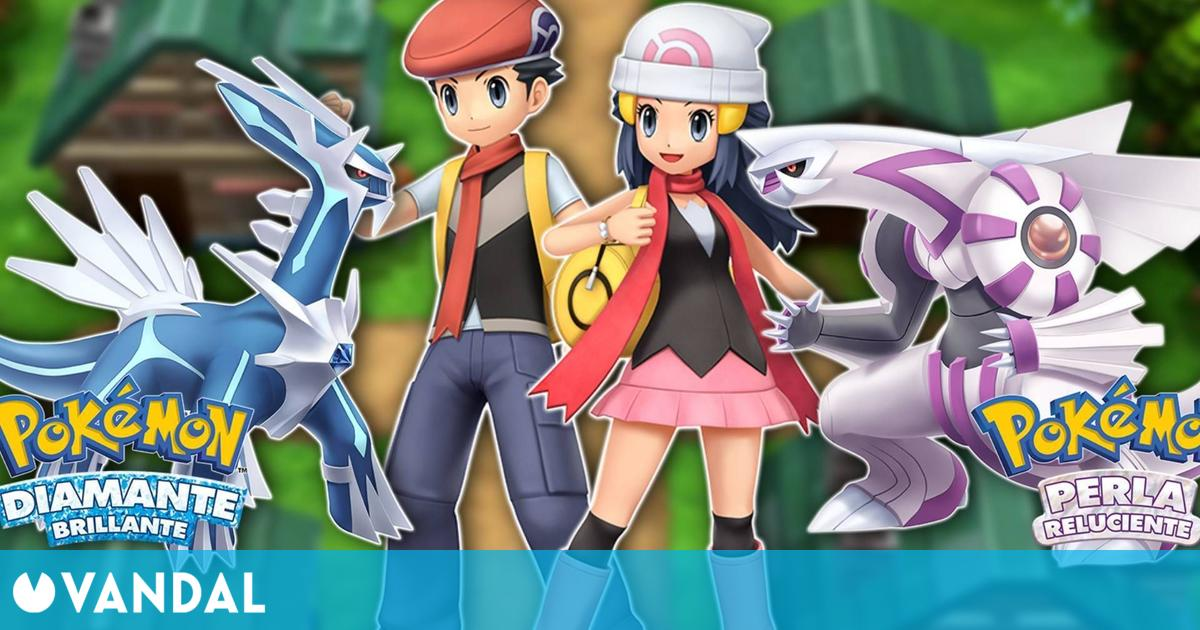 Pokémon Diamante Brillante y Perla Reluciente llegarán a Switch a finales de 2021