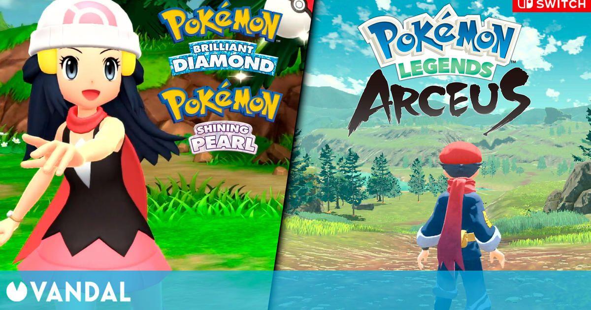 Resumen Pokémon Presents: Leyendas Arceus, remakes de Diamante y Perla y más