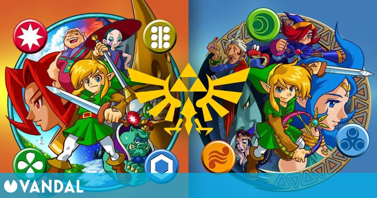 The Legend of Zelda: Oracle of Seasons y Oracle of Ages cumplen hoy 20 años