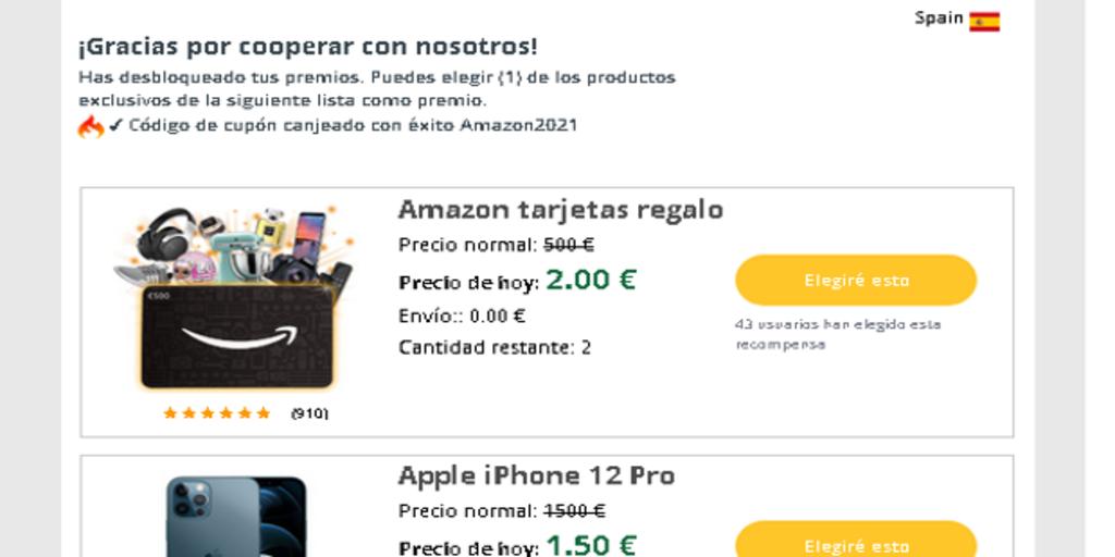 la estafa en la que te ofrecen el iPhone 12 y la PS5 para robarte