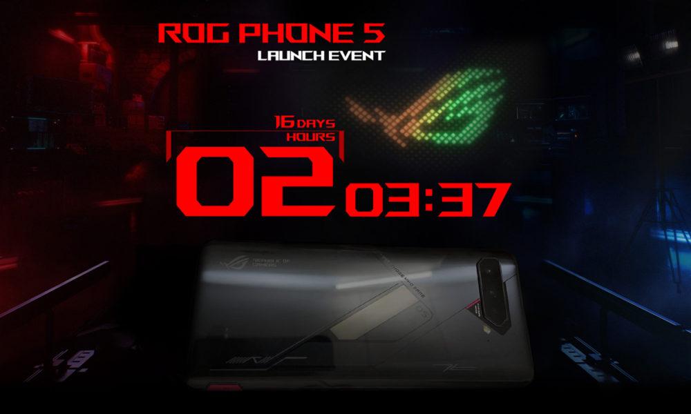 ASUS ROG Phone 5 se presentará oficialmente el 10 de marzo