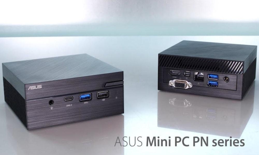 Los mini-PCs ASUS PN41 usan CPUs Intel «Jasper Lake»