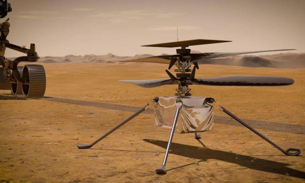 Ingenuity volará en Marte con software de código abierto