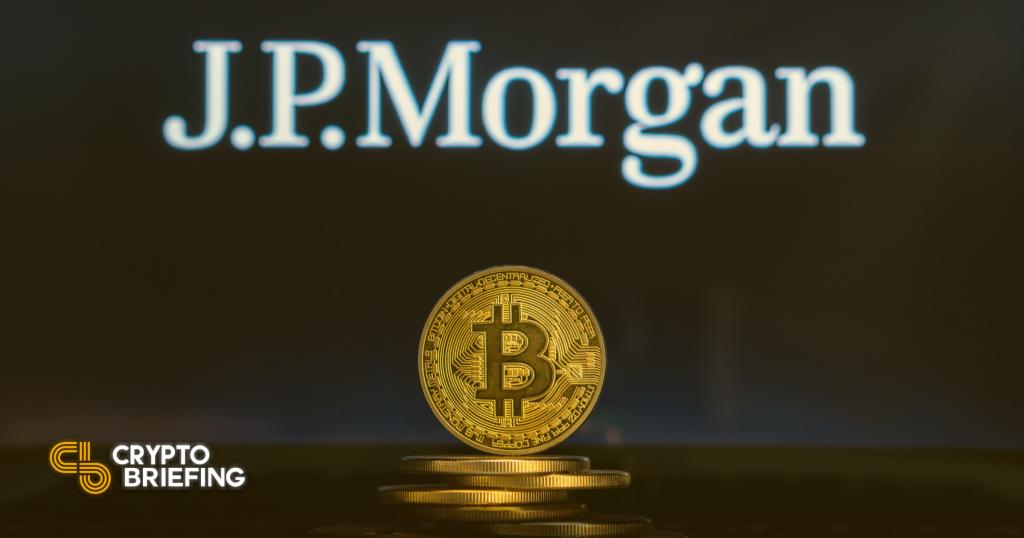JP Morgan respalda la asignación de Bitcoin del 1%, sugiere una cobertura no correlacionada