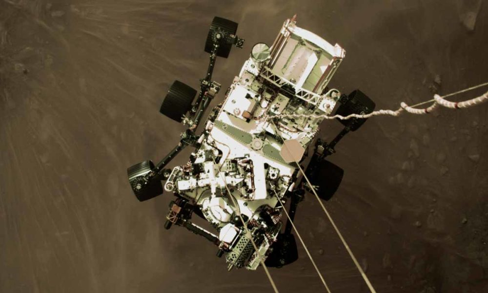 así fue su aterrizaje en Marte