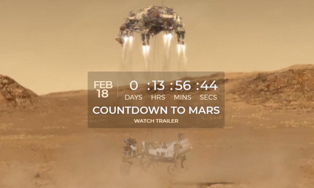 Perseverance e Ingenuity llegan a Marte ¡Míralo en directo!