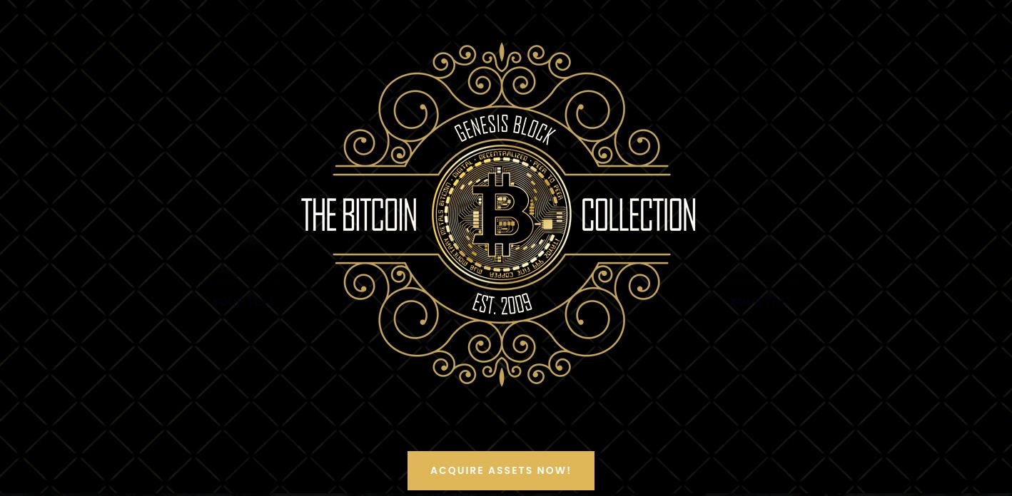 Hoy 11:40 am EST: Primera caída de arte de Bitcoin Elite NFT