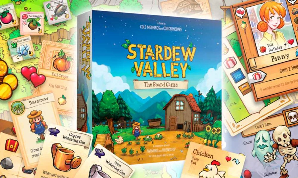 Stardew Valley saltará de la pantalla a la mesa