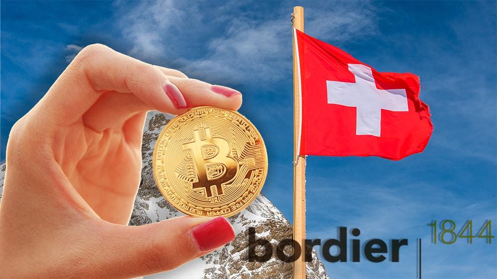 Banco suizo fundado en 1844 integra nueva plataforma para compraventa de bitcoin