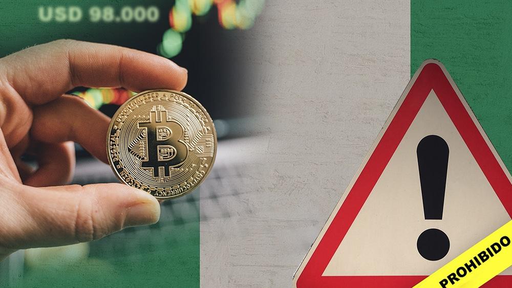 Bitcoin alcanza casi los 100.000 dólares en Nigeria debido a su prohibición