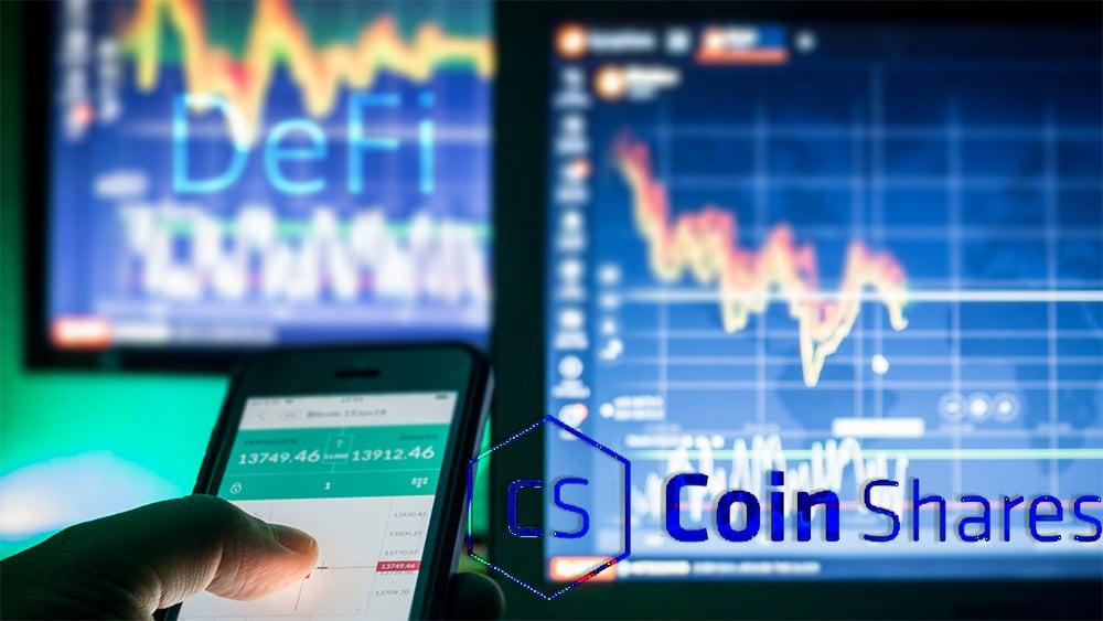 CoinShares lanza índice DeFi orientado a inversionistas institucionales