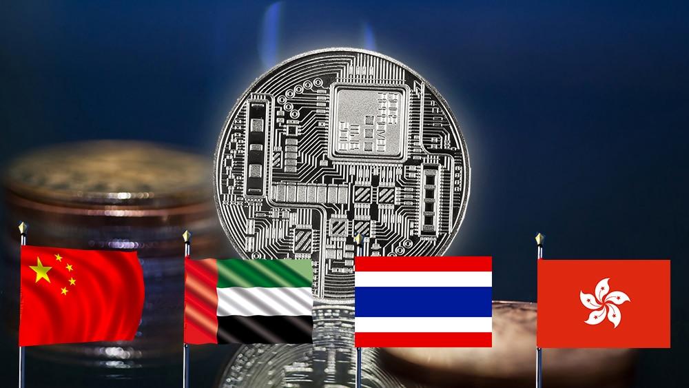 China, Emiratos Árabes, Tailandia y Hong Kong trabajarían por una criptomoneda común
