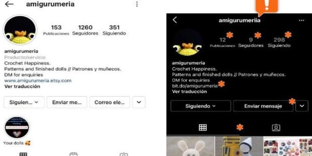 Alertan sobre una oleada de casos de suplantación de identidad en Instagram