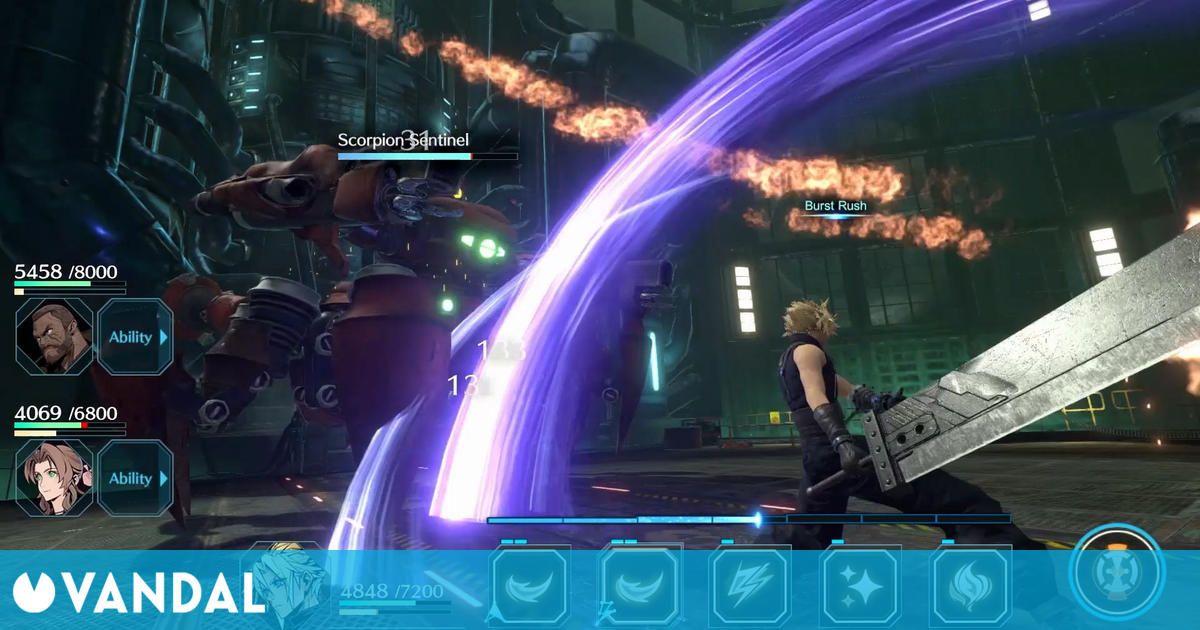 Anunciado Final Fantasy 7: Ever Crisis, una adaptación de toda la saga FFVII para móviles