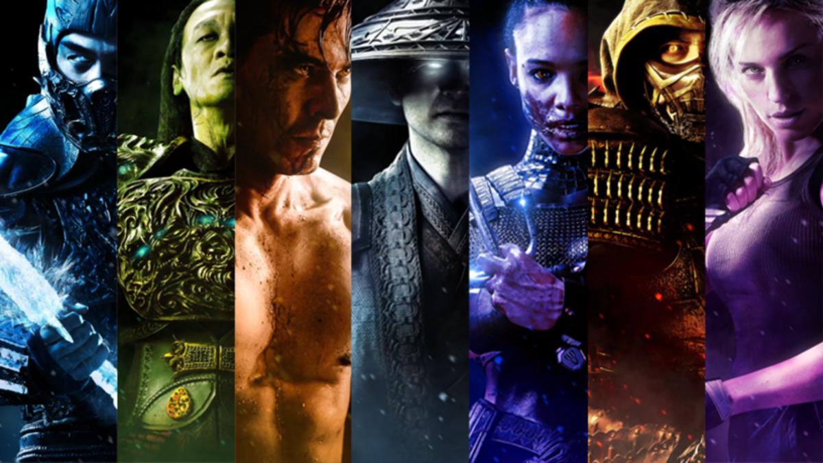 Carteles oficiales y trailer de Mortal Kombat