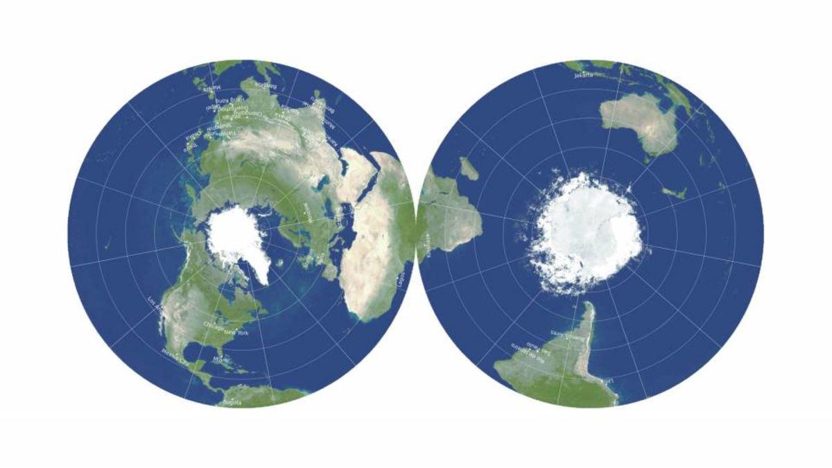 Así es el mapamundi más preciso que existe