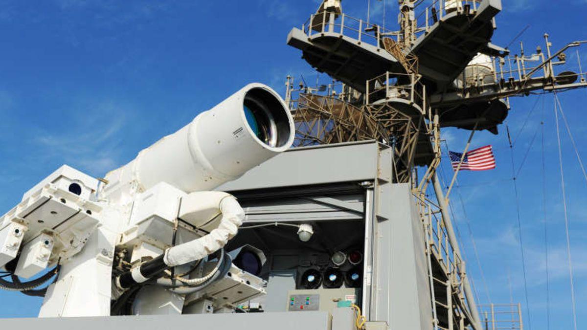 Este nuevo cañón láser será casi como en las películas