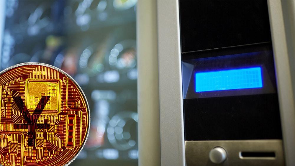 Máquinas expendedoras aceptan yuan digital en Shanghái, China