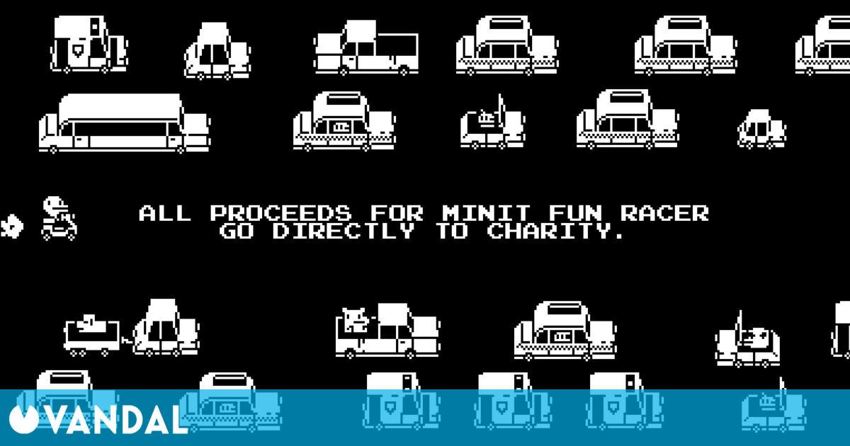 Minit Fun Racer ya a la venta; todos los ingresos se destinarán a causas benéficas