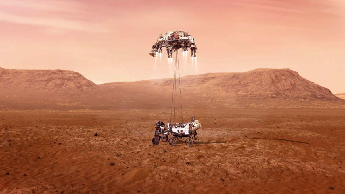 Sigue en directo el aterrizaje del Perseverance en Marte