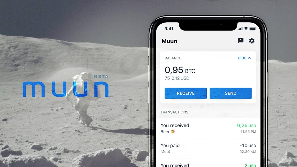 Review 2021 Muun Wallet, una cartera Bitcoin y Lightning todo en una