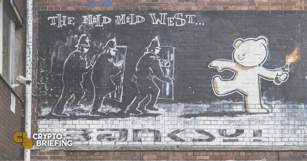 Artista digital obtiene $ 900,000 de los NFT de Banksy Style