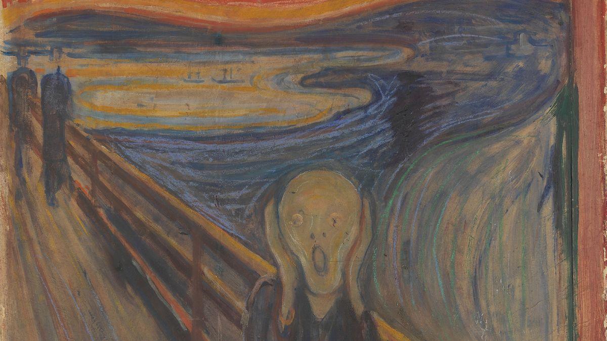 Hay una frase oculta en el cuadro El Grito de Munch