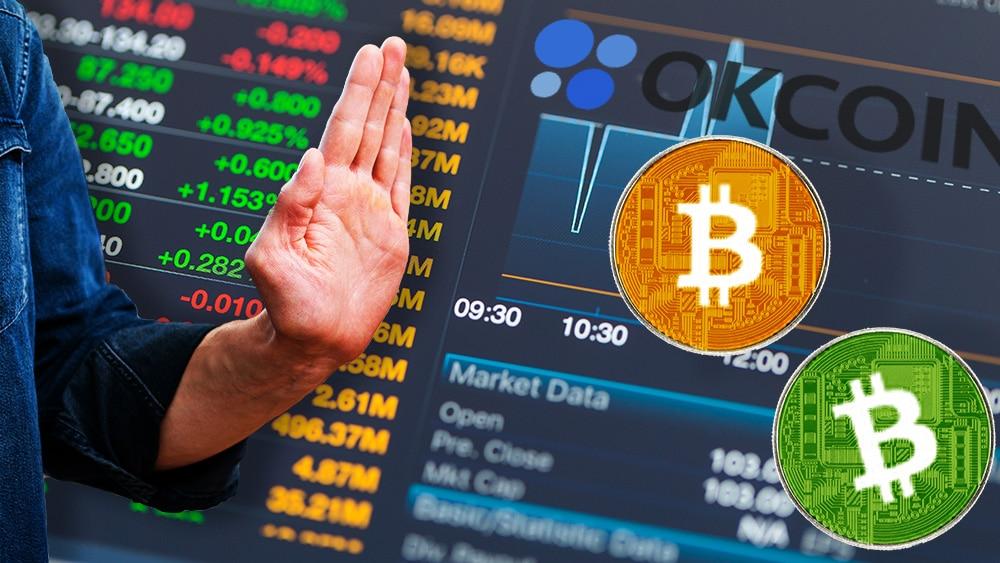OkCoin elimina a Bitcoin Cash y BSV de su exchange por liderar campaña de desinfomación