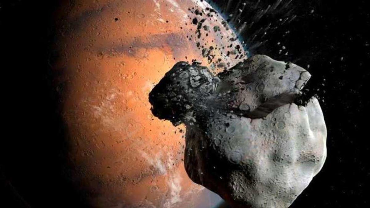 Según este estudio Fobos y Deimos fueron una sola luna