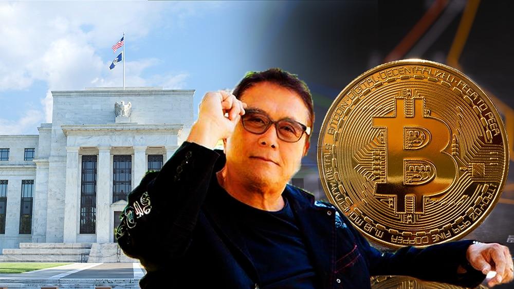 Robert Kiyosaki defiende a bitcoin en Twitter ante ataque de la Reserva Federal