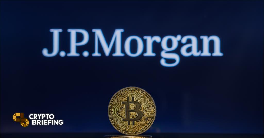 JP Morgan emite una advertencia de sujeción y adivina el precio objetivo de $ 146,000 BTC