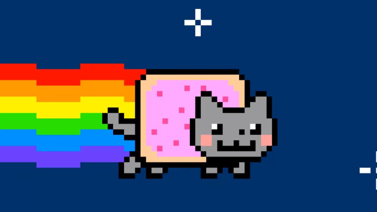 Alguien se ha gastado medio millón en un gif de Nyam Cat
