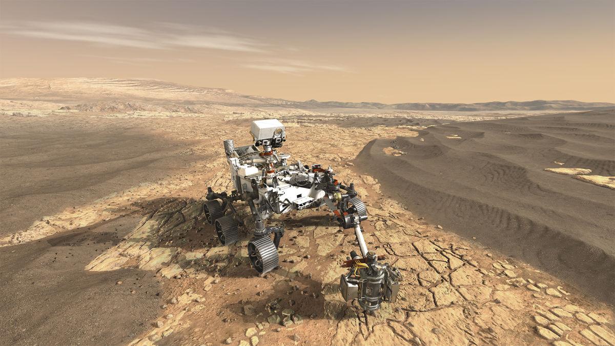 Escucha las grabaciones de láseres del Perseverance en Marte
