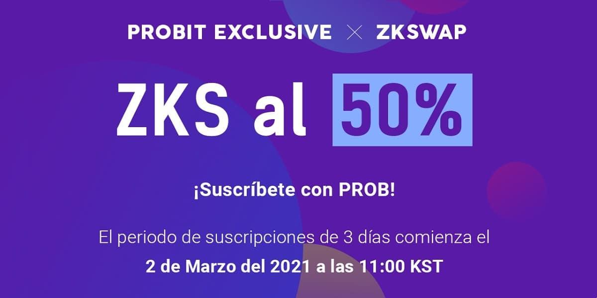ZKSwap se prepara para su evento ProBit Exclusive el 2 de marzo