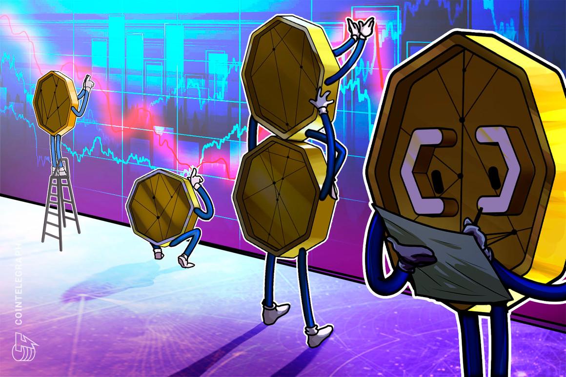 El rechazo del precio de Bitcoin cerca de su máximo histórico de USD 58,000 desencadena una venta masiva de altcoins