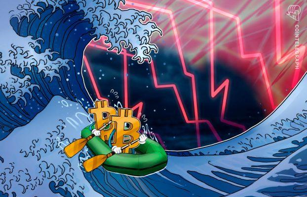 La venta masiva de acciones tecnológicas y el aumento del rendimiento del bono del Tesoro de EE.UU. mantienen el precio de Bitcoin por debajo de USD 50,000