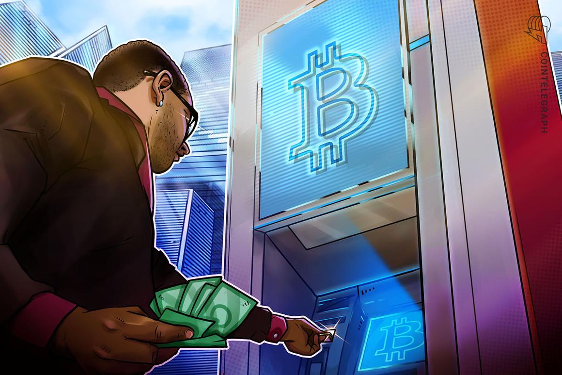 El número de cajeros automáticos de Bitcoin en Estados Unidos aumentó un 177% en el último año