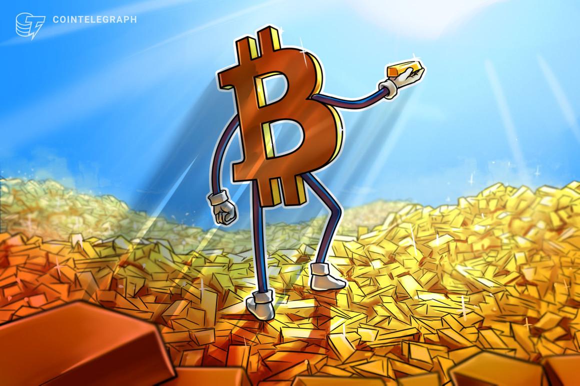 Bitcoin está superando al oro en la batalla de los activos refugio