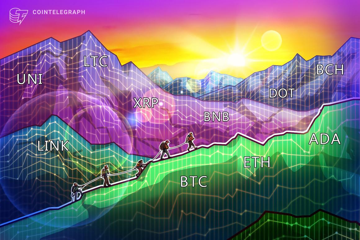 Análisis de precios del 5 de marzo: BTC, ETH, ADA, BNB, DOT, XRP, UNI, LTC, LINK, BCH