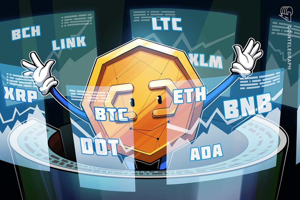 Análisis de precios del 3 de marzo: BTC, ETH, ADA, BNB, DOT, XRP, LTC, LINK,  BCH, XLM