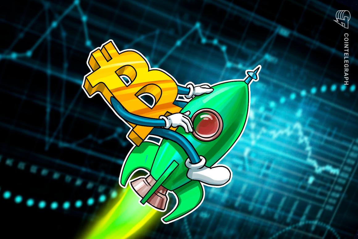 La ruptura de la bandera alcista establece un objetivo de USD 55,000 para el precio de Bitcoin