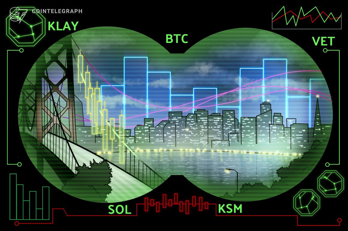 Las 5 principales criptomonedas a observar esta semana: BTC, KLAY, VET, SOL, KSM