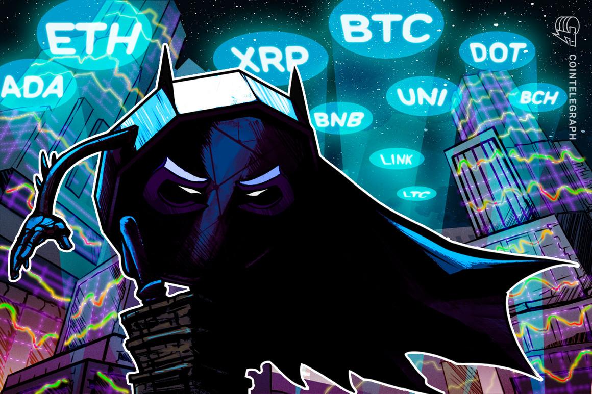 Análisis de precios del 17 de marzo: BTC, ETH, BNB, ADA, DOT, XRP, UNI, LTC, LINK, BCH