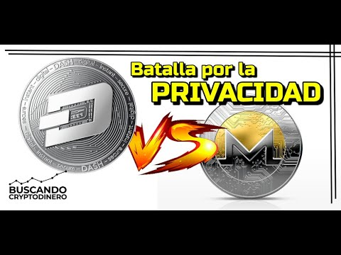 🟢 Monero vs Dash 🥊    La lucha por la PRIVACIDAD !!! (XMR vs DASH)