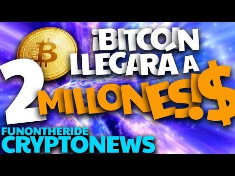 ¡BITCOIN LLEGARÁ a 2 MILLONE$ !?
