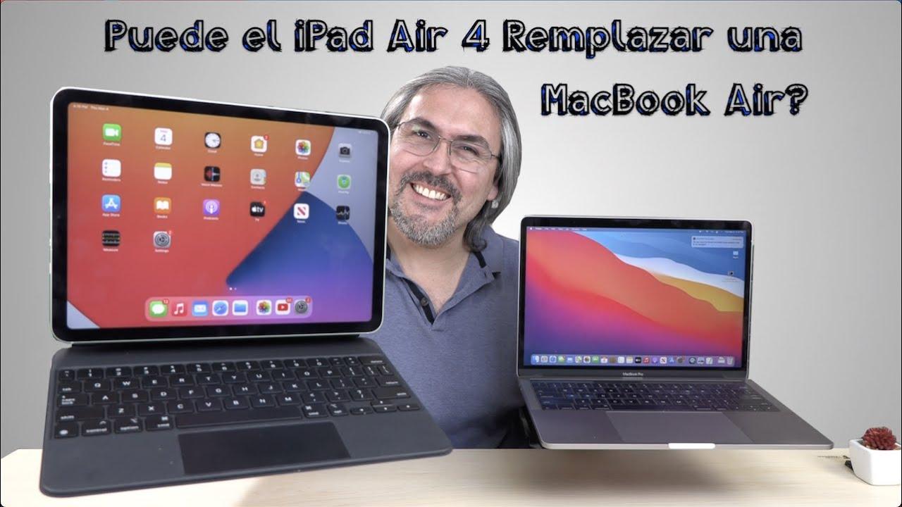 Puede el iPad Air 4 reemplazar una MacBook Air?