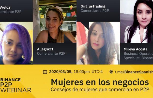 Mujeres en los negocios:  Consejos de mujeres que comercian en Binance P2P