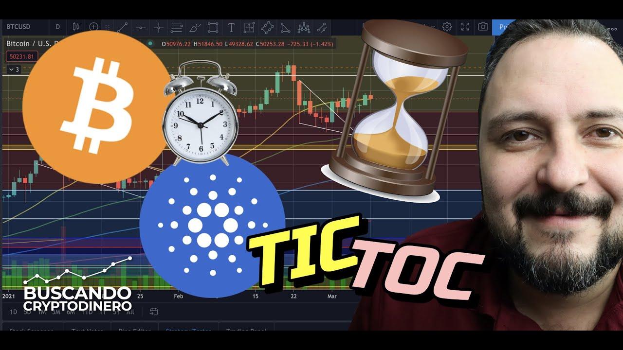 Bitcoin… ⏰  TIC-TOC el tiempo se acaba !!! + 19 Altcoins y Rifa !!!