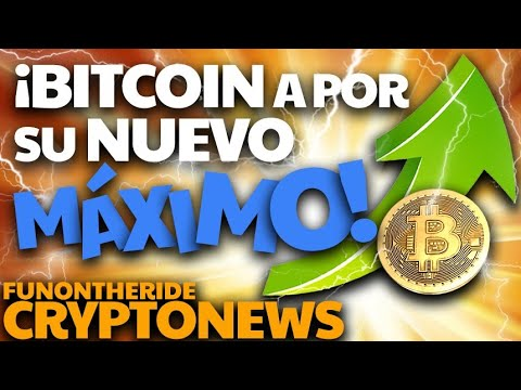¡SUBIDA #BITCOIN! 🟢 #BTC busca NUEVO MÁXIMO!