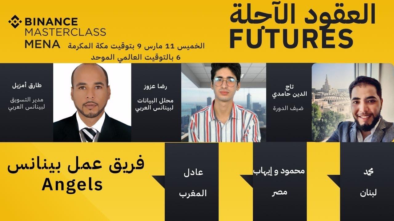 Binance Masterclass MENA #4 : Futures تعلَّم كيفية تداول العقود الآجلة كمحترف مع #بينانس